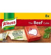 KNORR BEEF CUBE X8