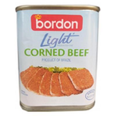 BORDON LIGHT CORNED BEEF 200G