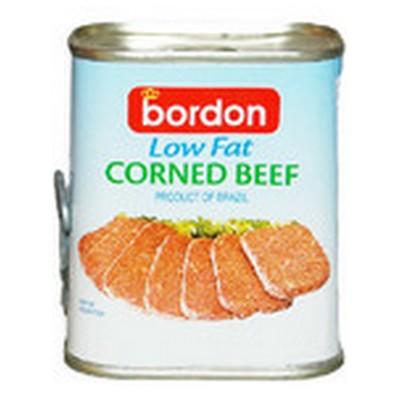BORDON LIGHT CORNED BEEF 340G