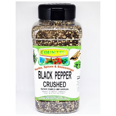 COUNTRY CRUSHED BLACK PEPPER 270G