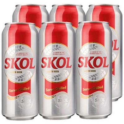 SKOL LAGER 6 X 500ML