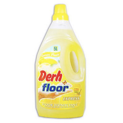 DERH FLOOR LEMON YELLOW 5 LTR