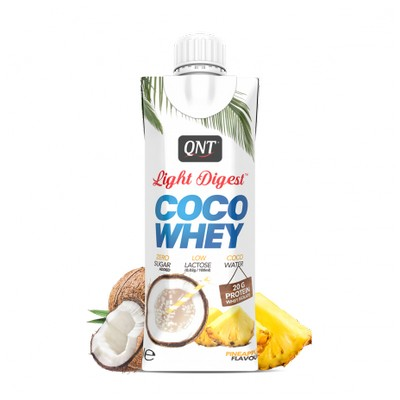 QNT COCO WHEY PINEAPPLE FLAVOUR 330ML