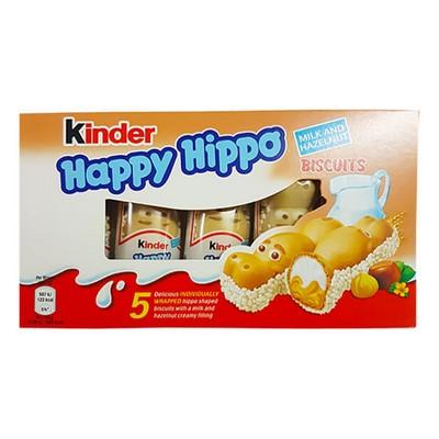 KINDER HAPPY HIPPO HAZELNUT X5