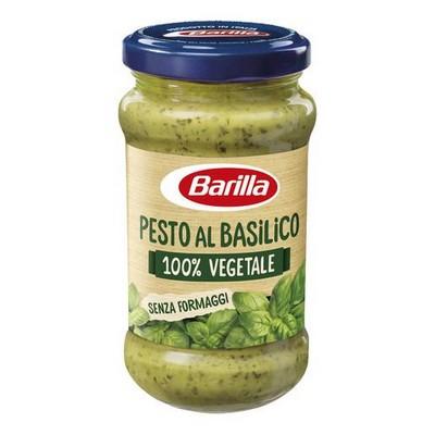 BARILLA PESTO AL BASILICO VEGETALE 100%