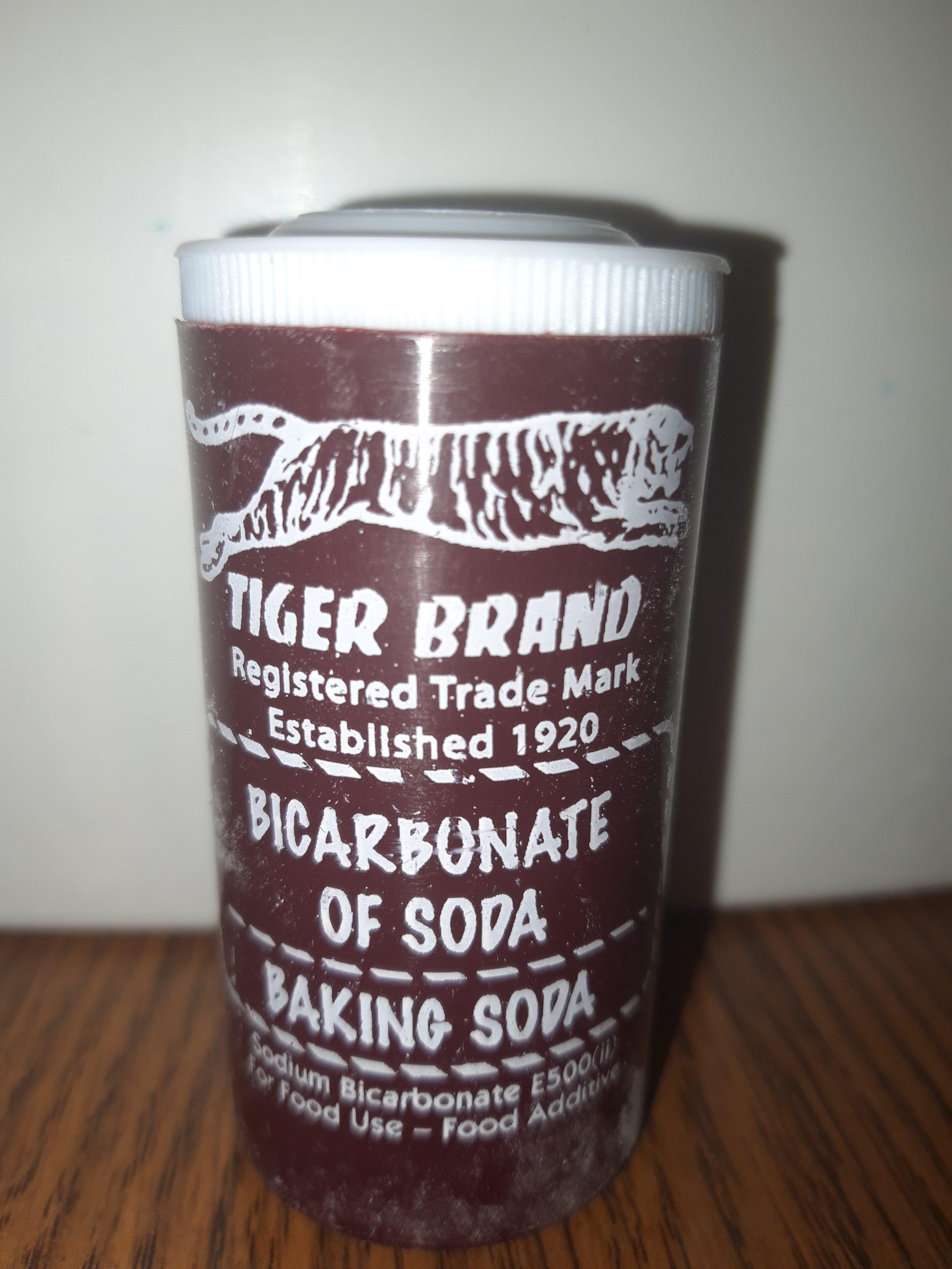 TIGER BRAND BICARBONATE OF SODA