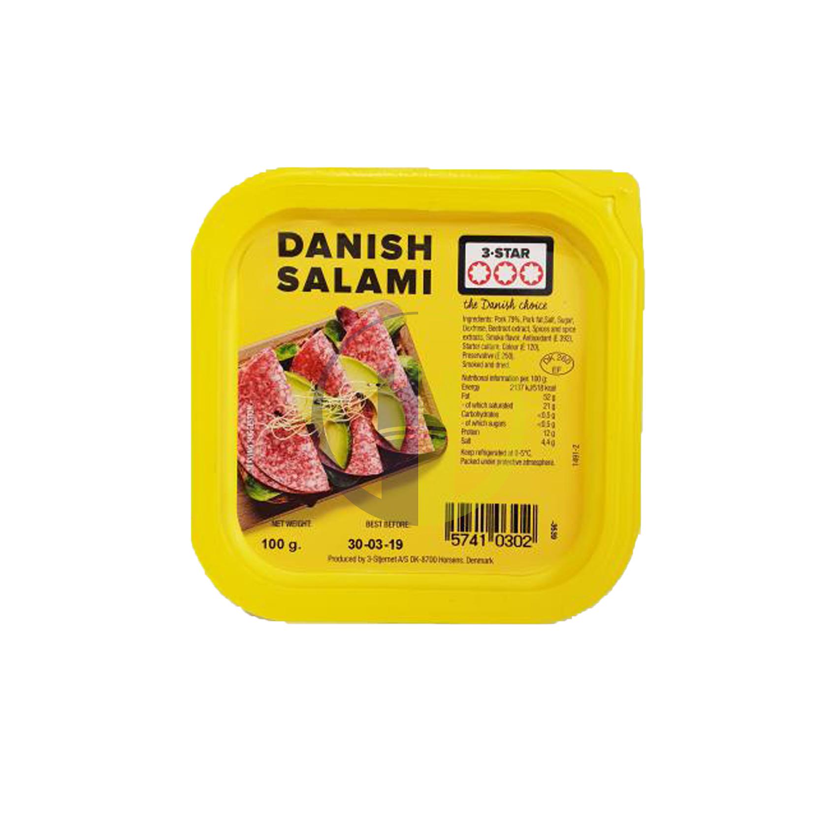 3 Star Danish Salami