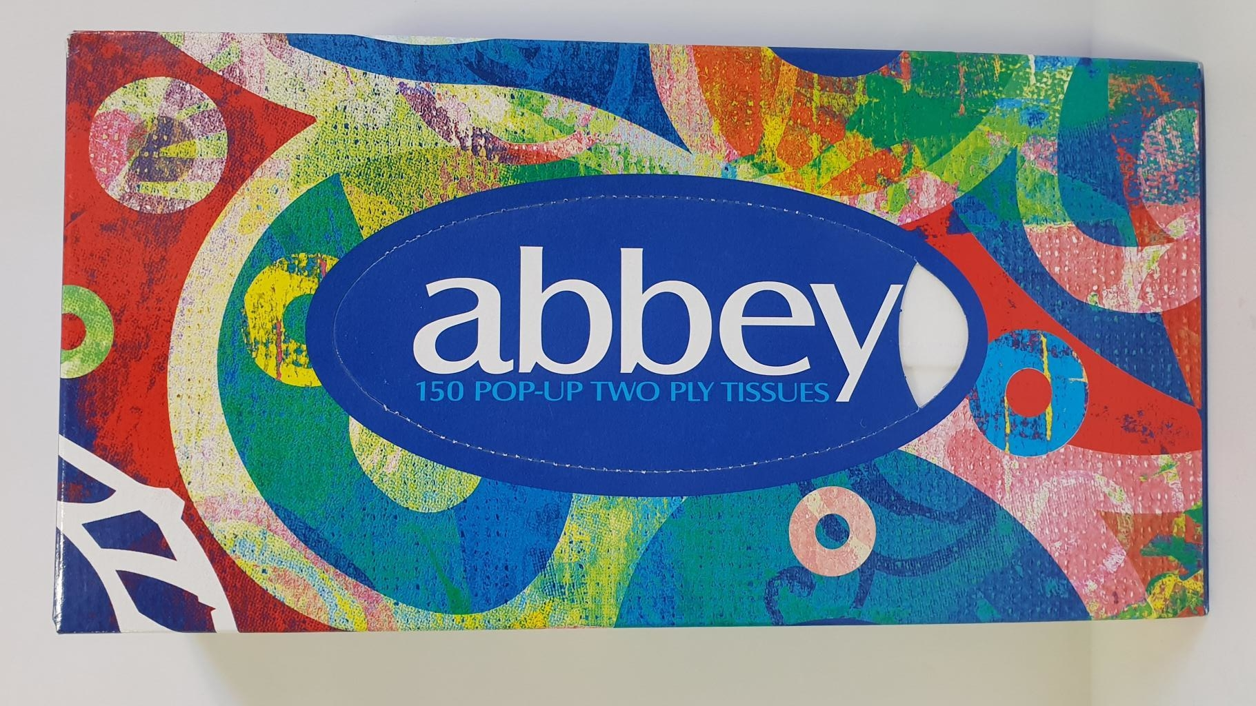 ABBEY POP UP 2 PLY TISSUES 150