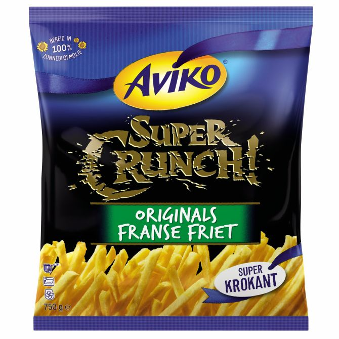 AVIKO SUPER CRUNCH FRANSE FRIET 750G