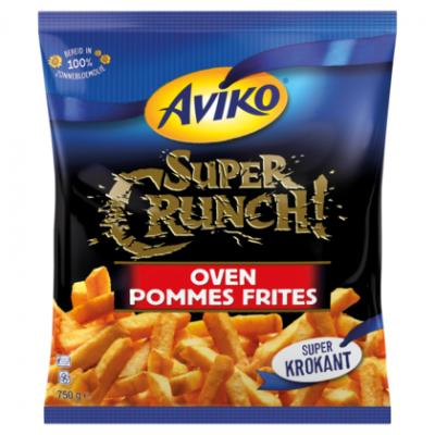 AVIKO SUPER CRUNCH OVEN POMMES FRITES 750G
