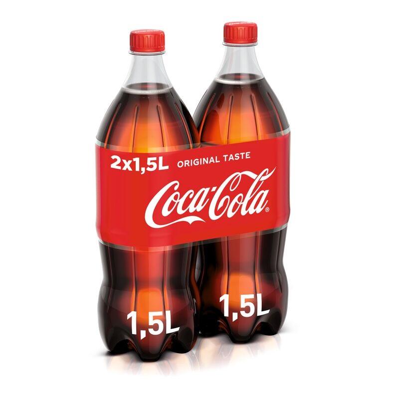 COCA COLA 1.5LTR X2