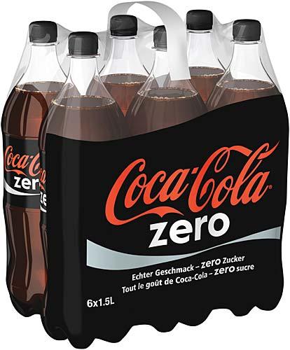 COCA ZERO 1.5 LTR X 6