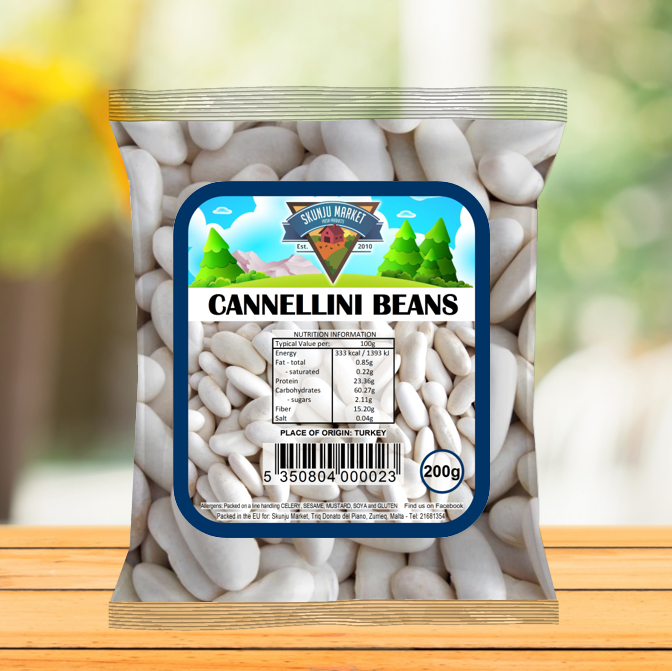 Skunju Packed Cannellini Beans