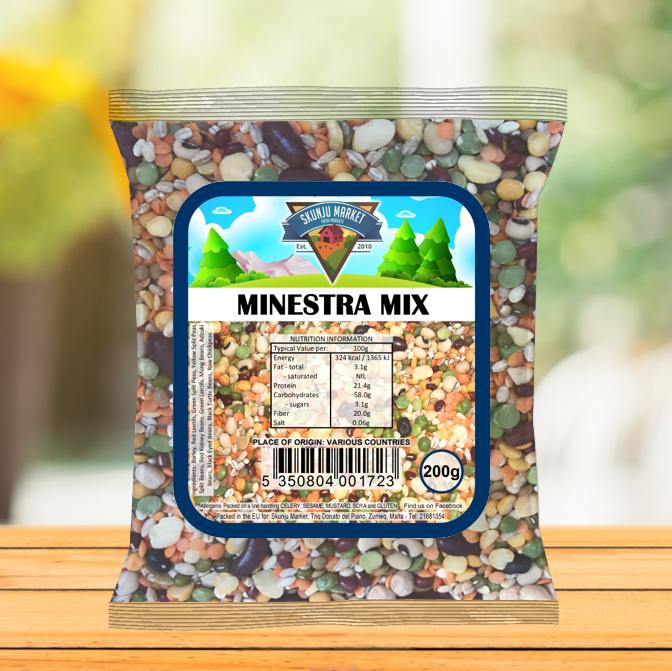 Skunju Packed Minestra Mix