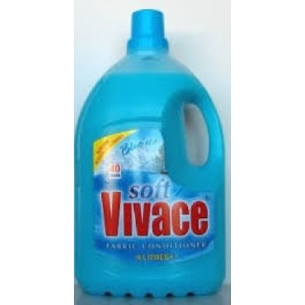VIVACE SOFT  CONDITIONER 4 LTR BLUE