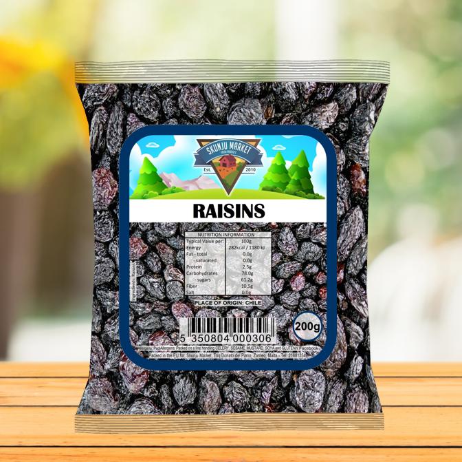 Skunju Packed Raisins