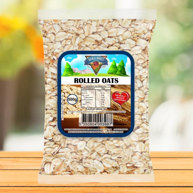 Skunju Packed rolled oats