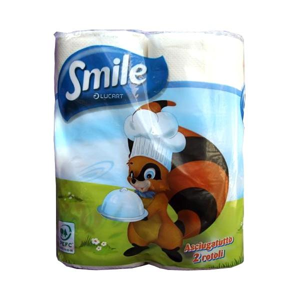SMILE KITCHEN ROLL X2