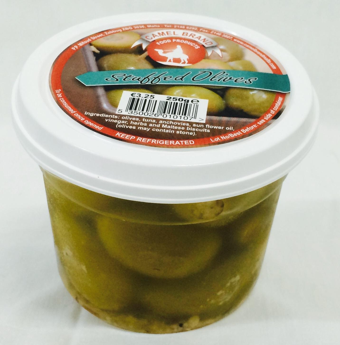 Camel Brand Stuffed Olives