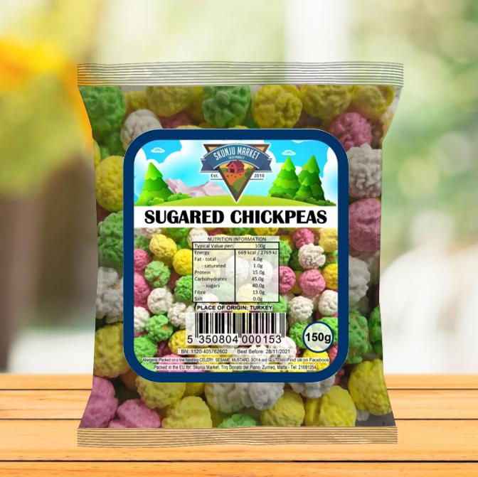 Skunju Packed sugared chickpeas