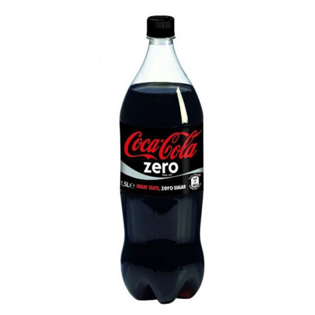 COCA ZERO 1.5 LTR