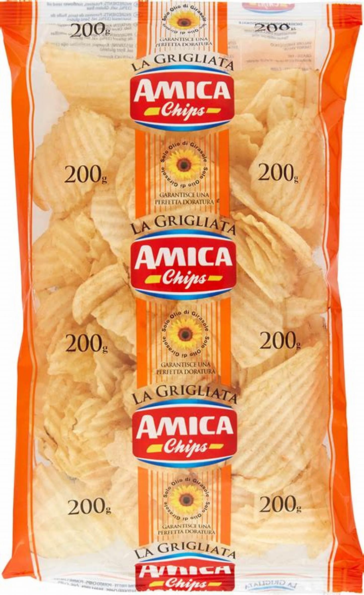 AMICA CHIPS LA GRIGLIATA 200G