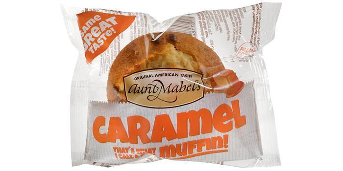 Aunt Mabels Caramel Muffin