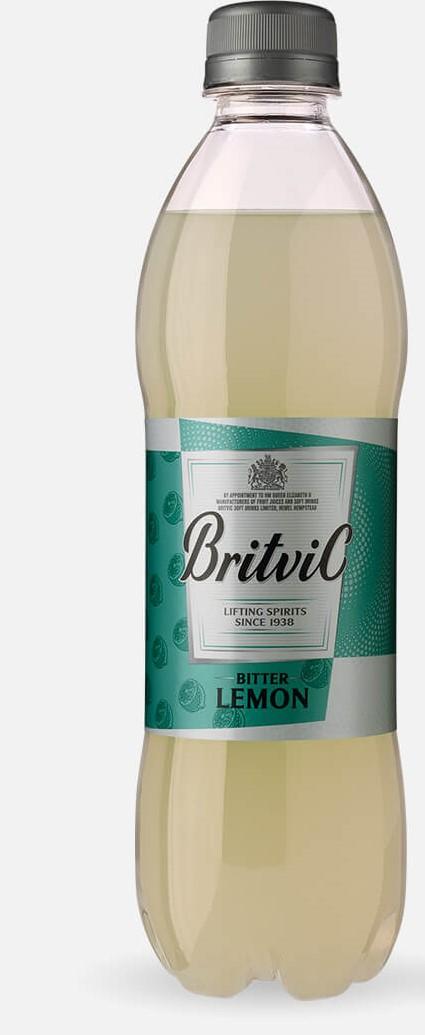 BRITVIC BITTER LEMON 500ML