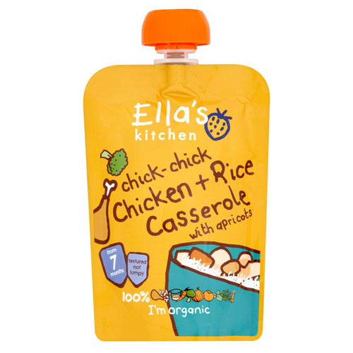 Ella's Chick-Chick Chicken Casserole With Rice