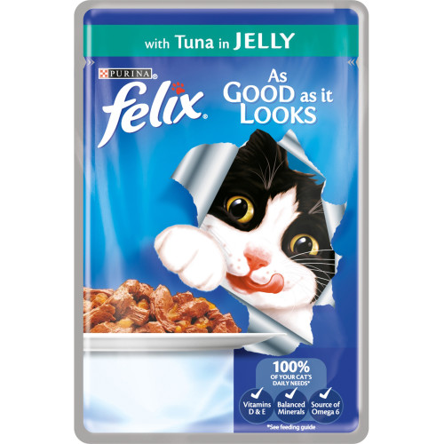 Felix With Tuna In Jelly