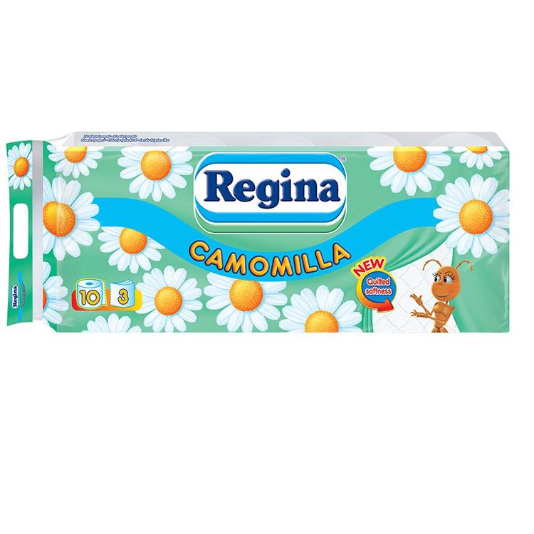 REGINA CAMOMILLA TOILET PAPER X 10