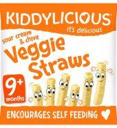 Kiddylicious Sour Cream & Chive Veggie Straws