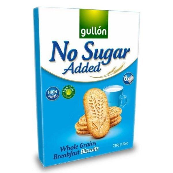 Gullon Sugar Free Whole Grains Breakfast Biscuits