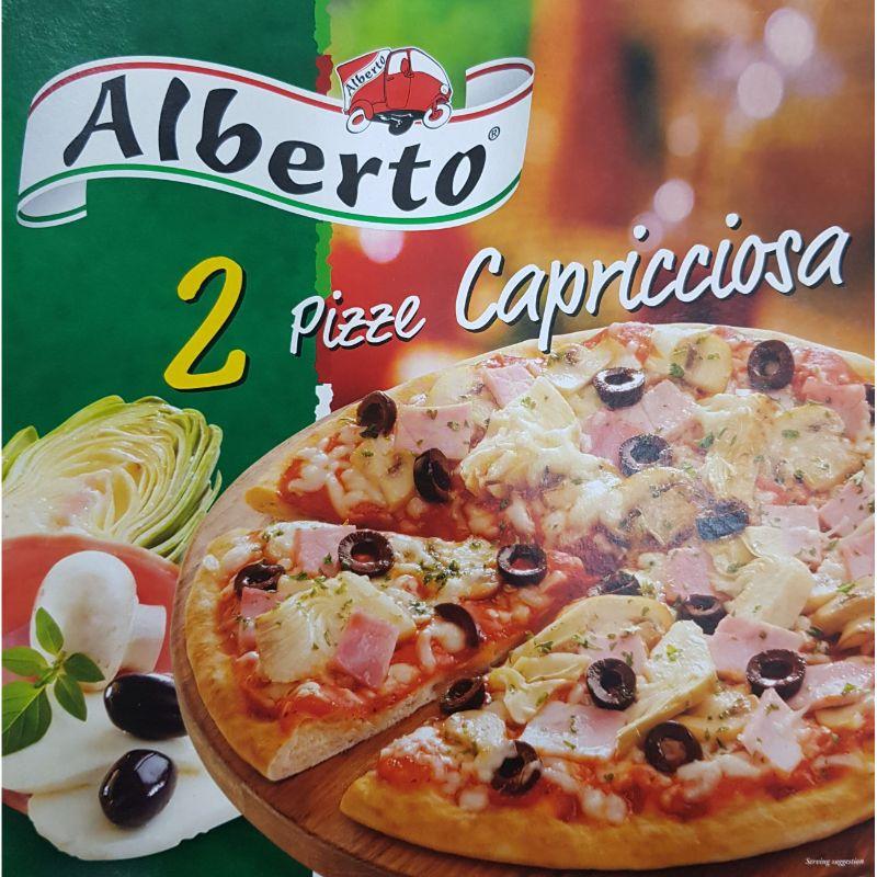 Alberto Pizza Capricciosa 50C OFF