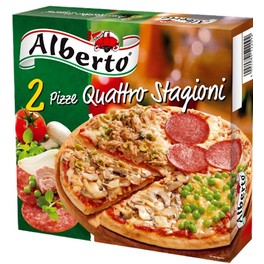 Alberto Pizza Quattro Stagioni 50C OFF