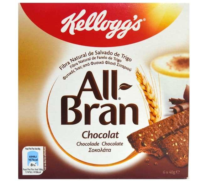 All Bran Chocolate Bars