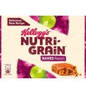 Kelloggs Nutri Grain Bakes Raisin