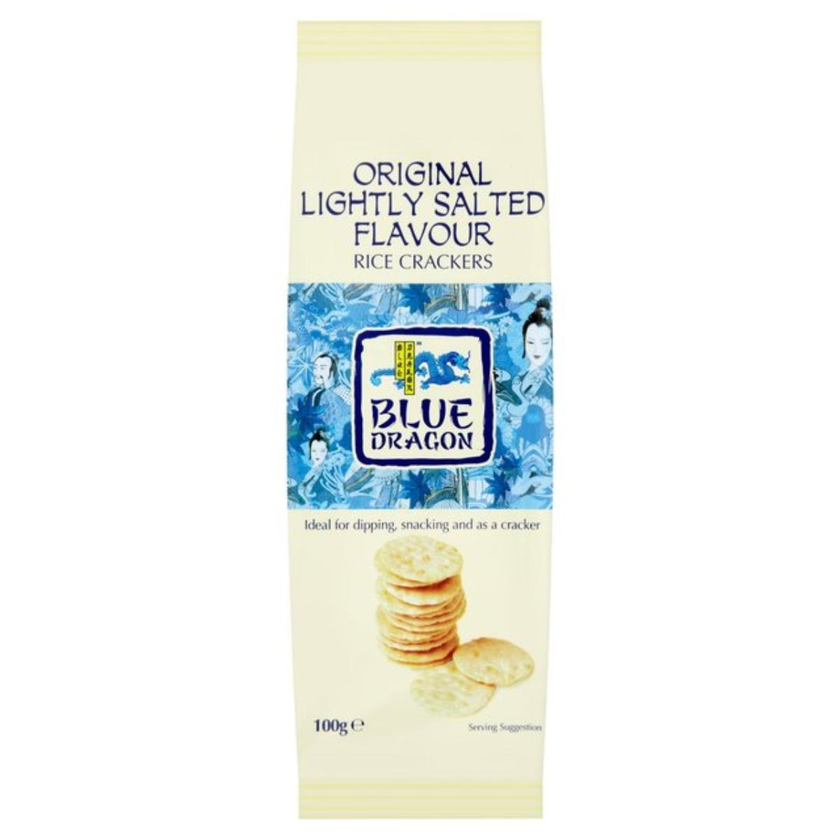 Blue Dragon Original Slightly Salted Flavour  Rice Crackers