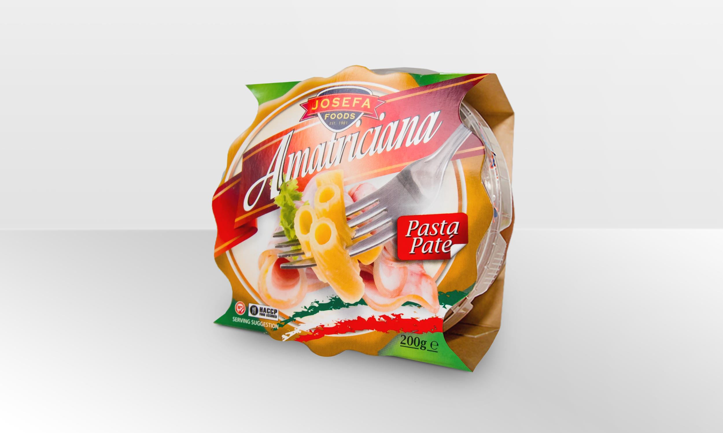 Josefa Amatriciana  Pasta Pate