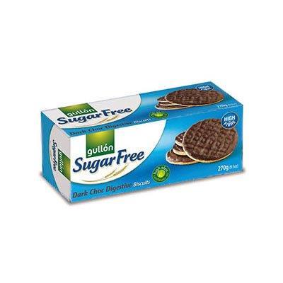 Gullon Sugar Free Dark Choc Digestive Biscuits