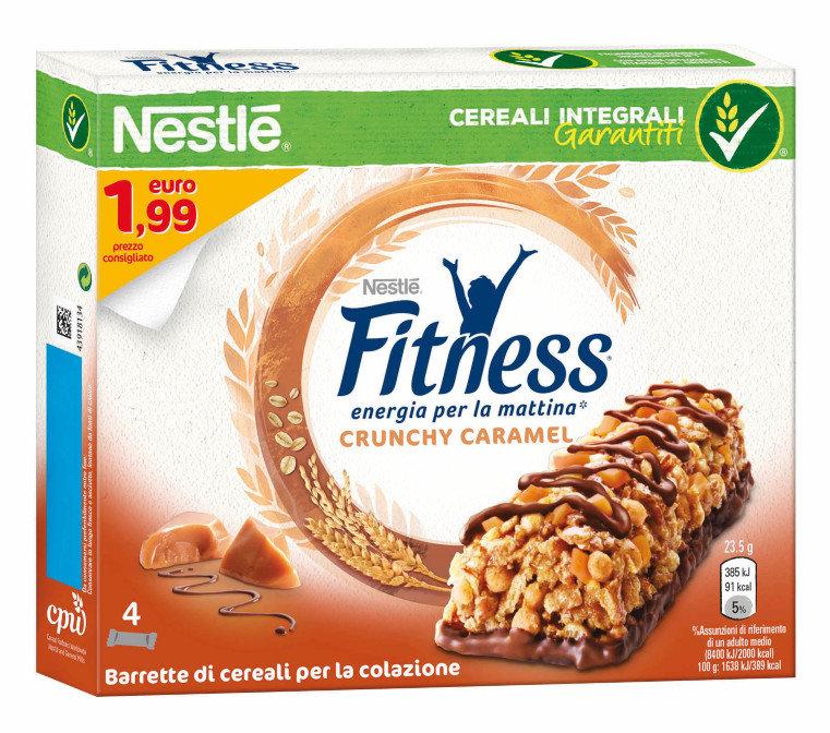 Fitness Crunchy Caramel Bars