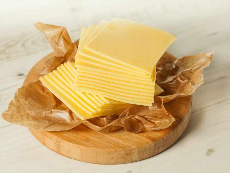 Cheddar in Slices per 100g