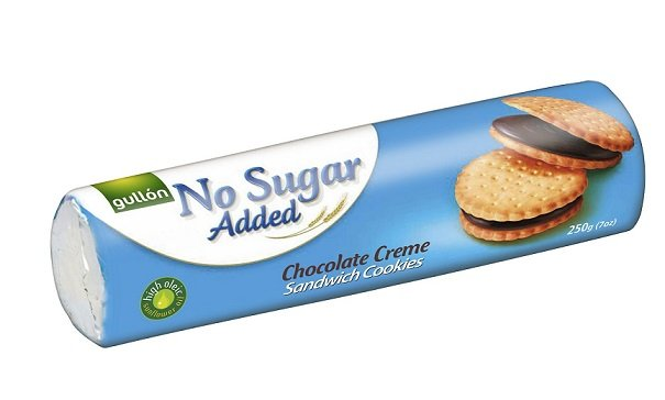 Gullon Sugar Free Chocolate Sandwich Cookies