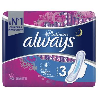 Always Platinium Size 3 Night with Wings by 8
