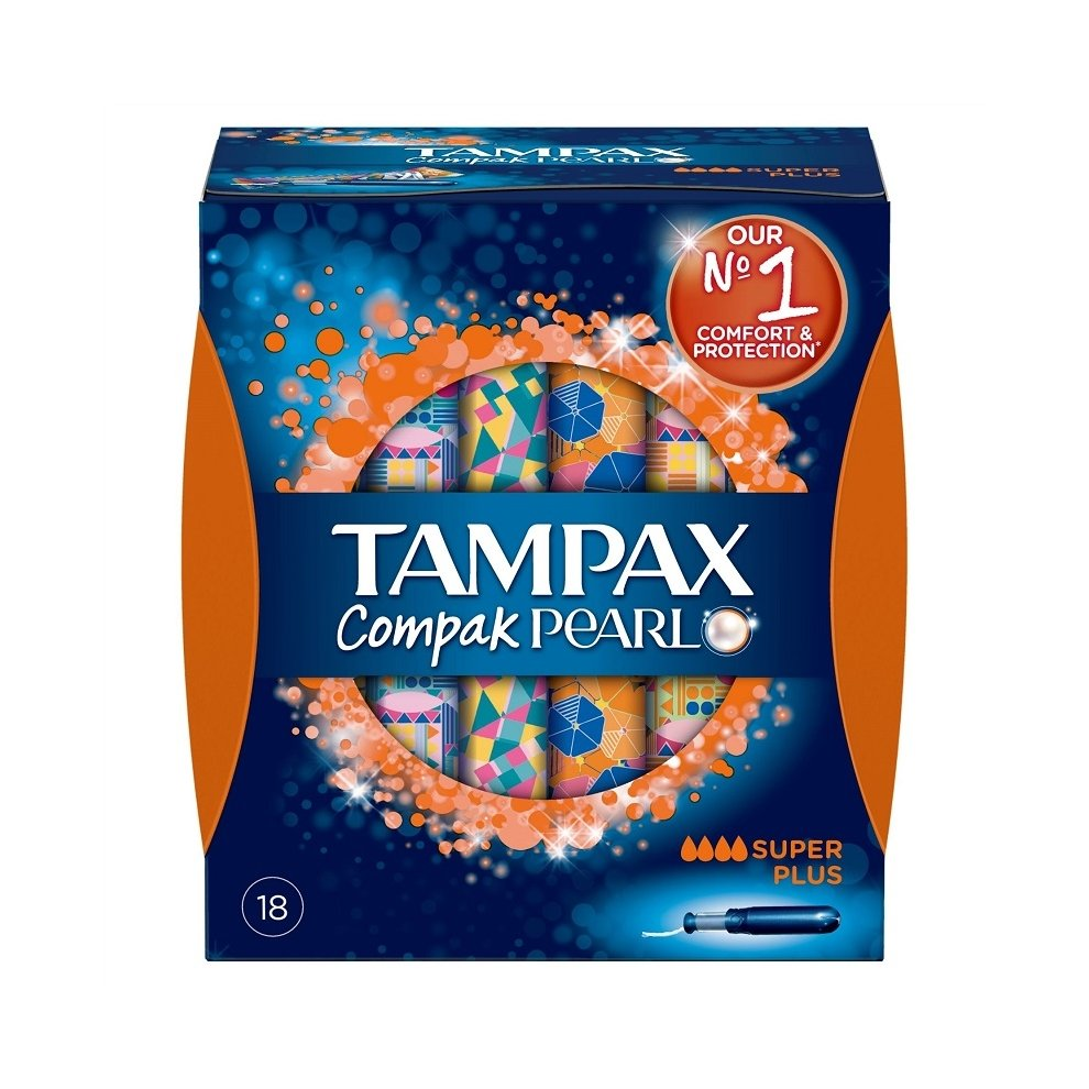 Tampax Pearl Compak by 18 Super Plus