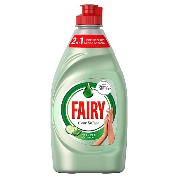 Fairy Clean & Care Aloe Vera & Cucumber  383ml
