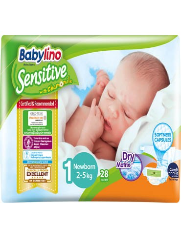 Babylino Baby Diapers by 28  Size 1