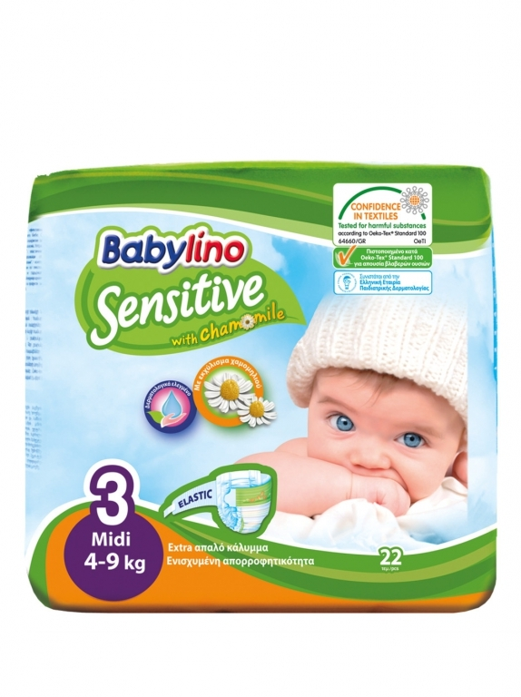 Babylino Baby Diapers by 22  Size 3