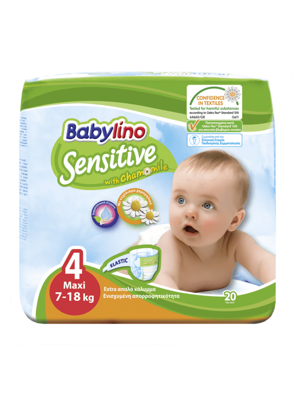 Babylino Baby Diapers by 20  Size 4