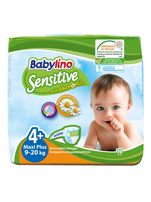 Babylino Baby Diapers by 19 Size 4+